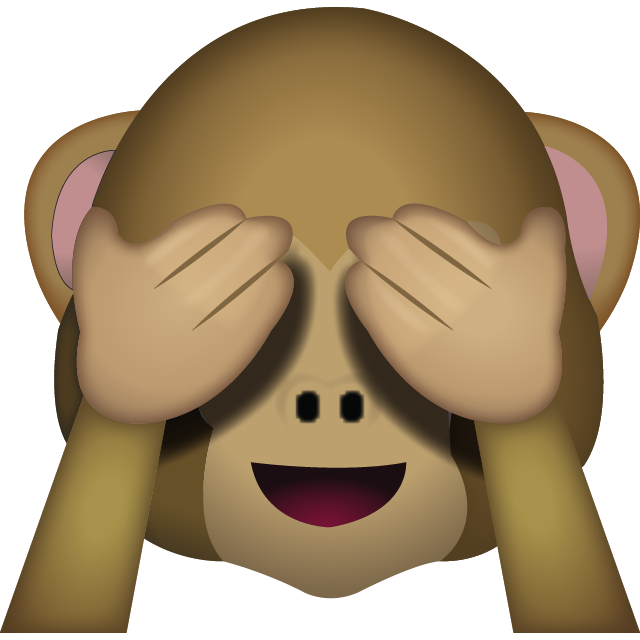 graphic transparent Download See No Evil Monkey Emoji