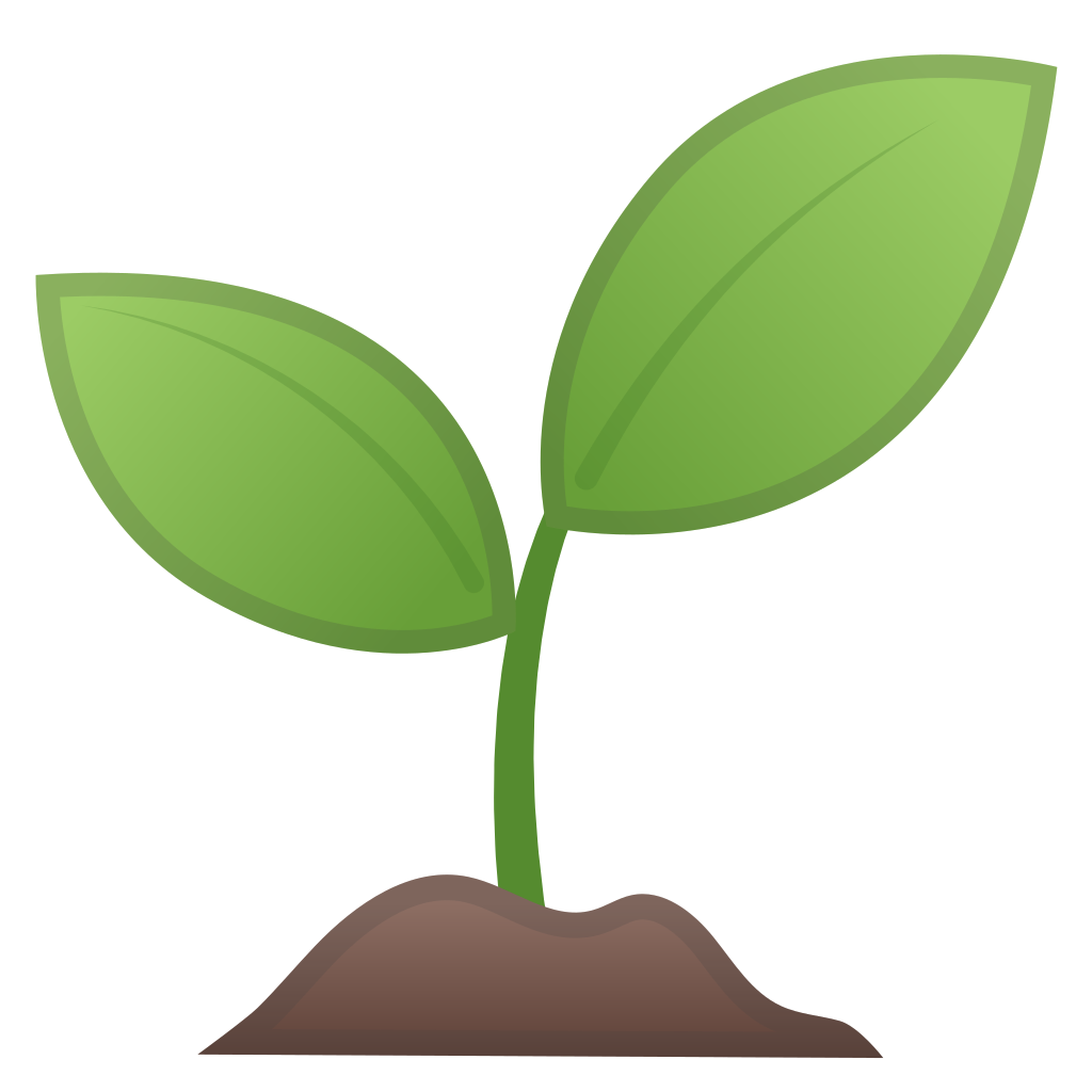 graphic royalty free stock Seedling clipart. Green plant .