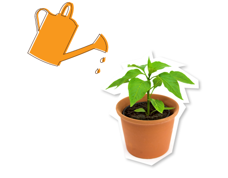 svg black and white library Seedling clipart. Potted plants free on.