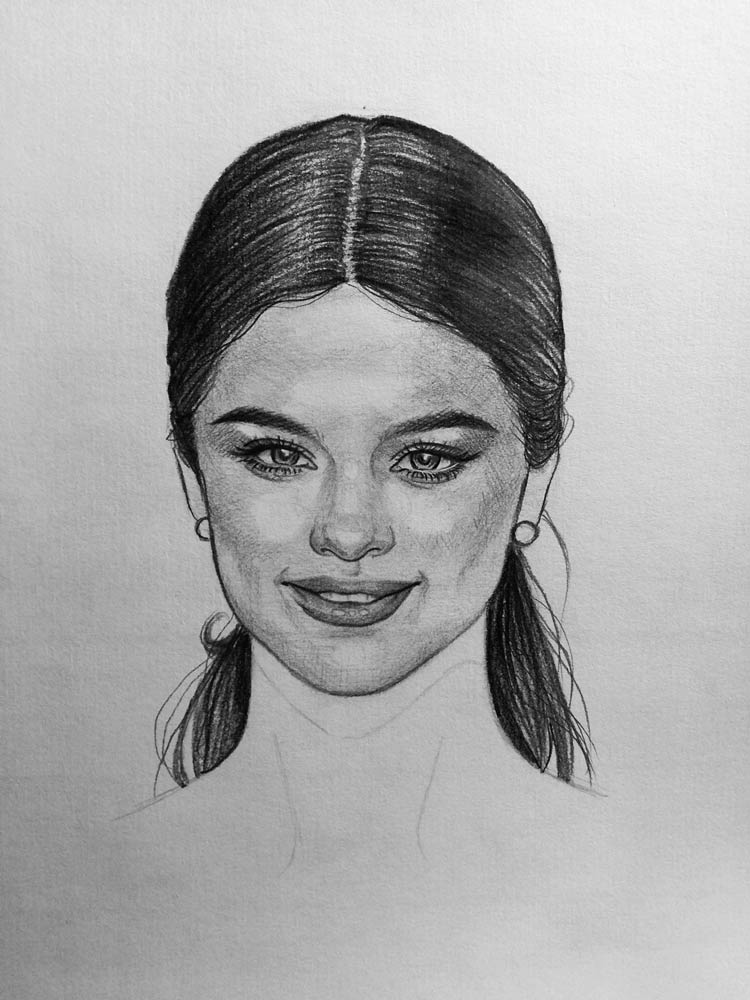banner freeuse download Selena drawing. How to draw gomez.