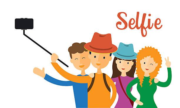 banner stock Selfie clipart. Station .