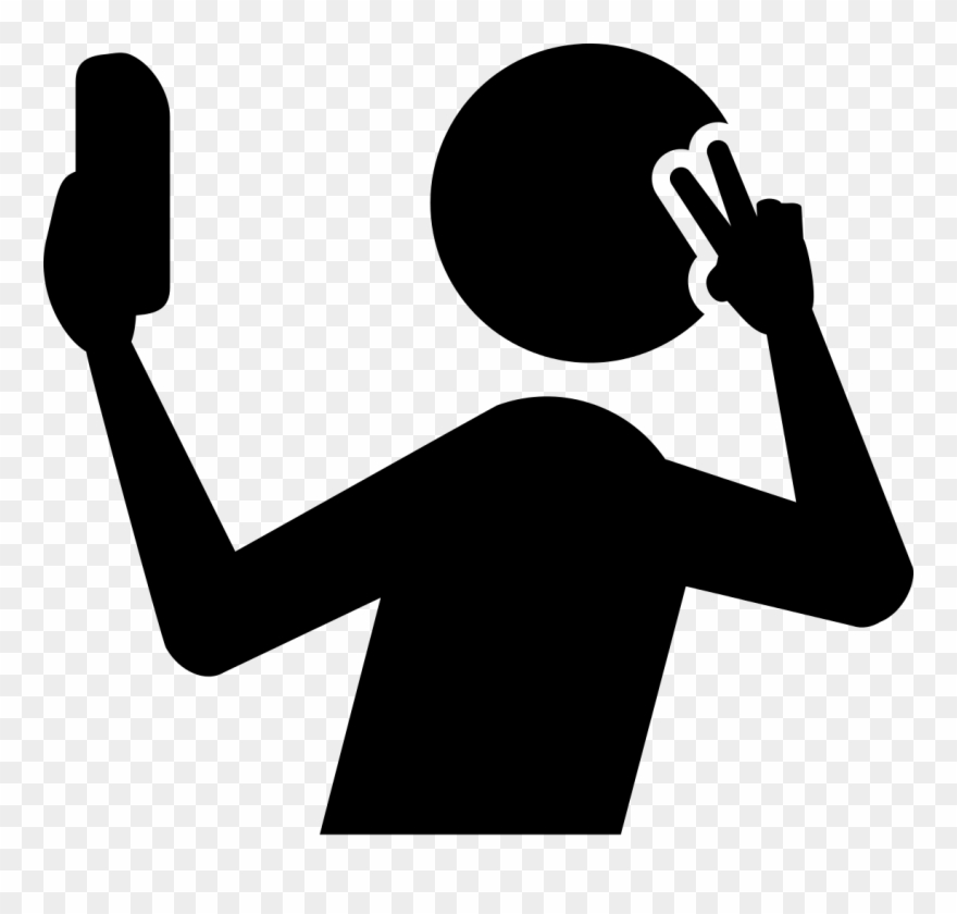 clipart freeuse library Selfie clipart. Selfies aren t just.