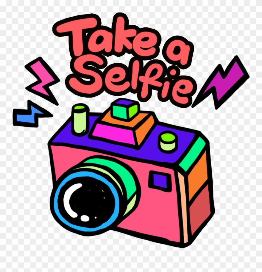 banner download Selfie clipart. Take a orange pinclipart.