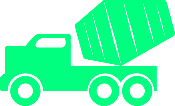 picture freeuse library Dump Truck Clipart Black And White