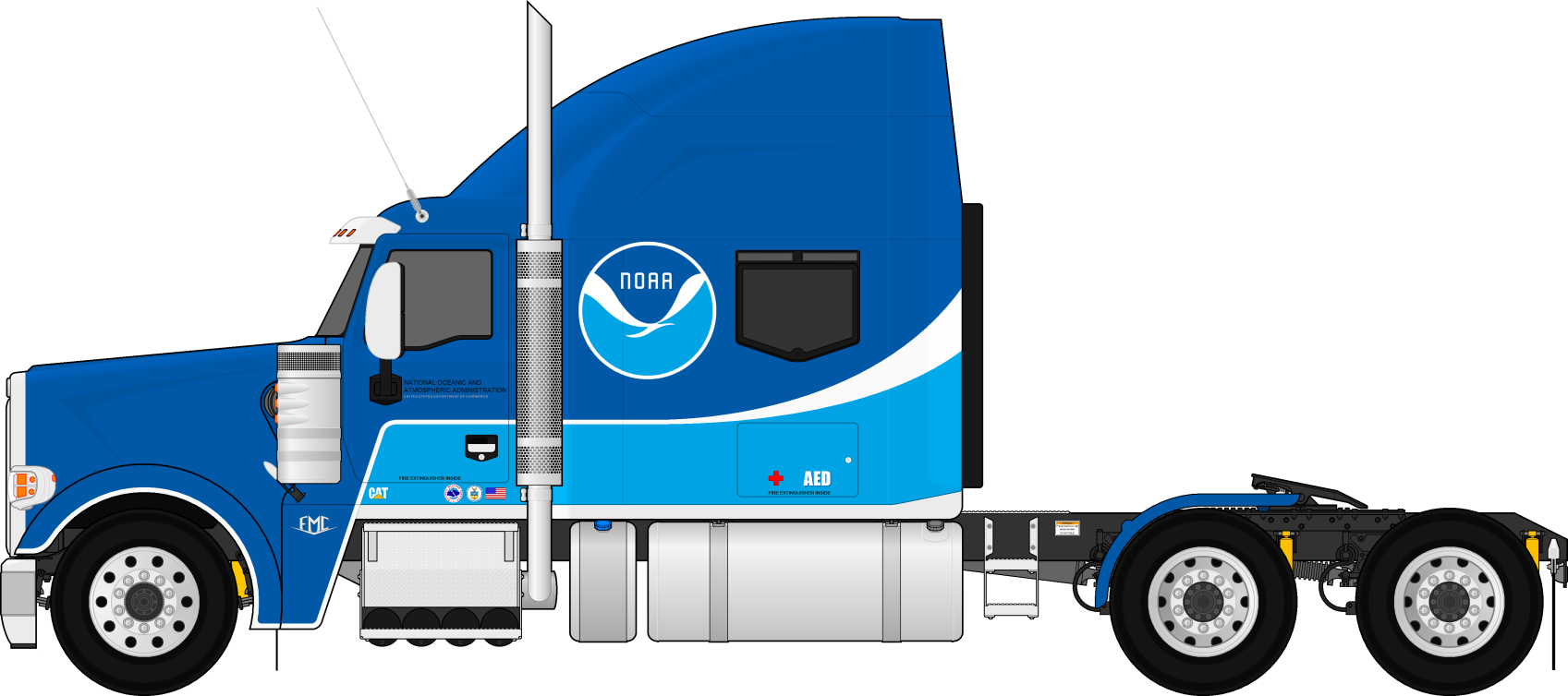 picture royalty free library trailer drawing diesel truck #105030710