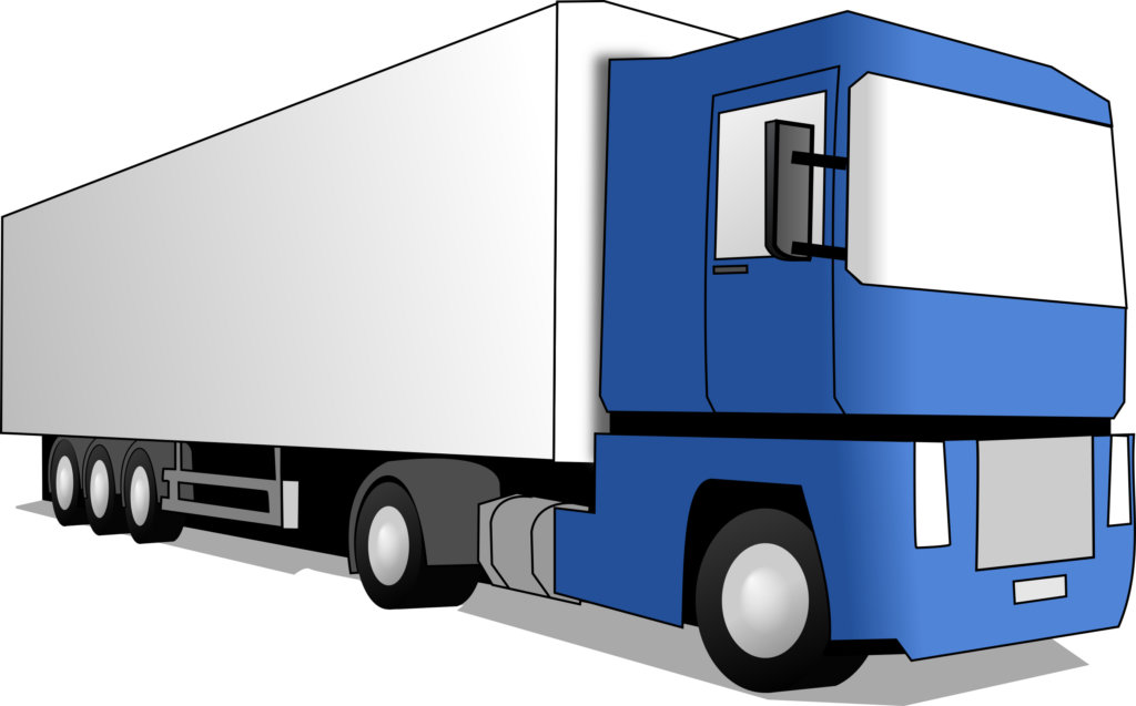 picture royalty free library Trailer Truck Clipart at GetDrawings