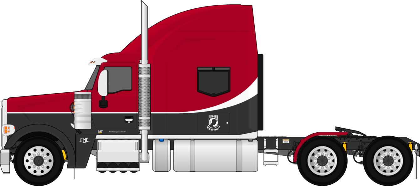 banner Collection of free Truck drawing trailer