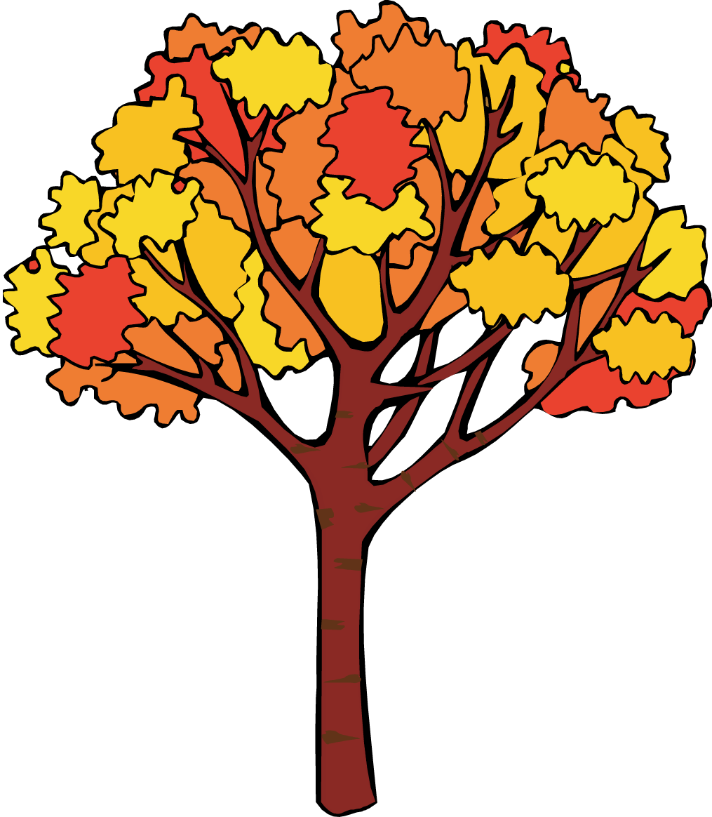 png free stock Fall Tree Clip Art