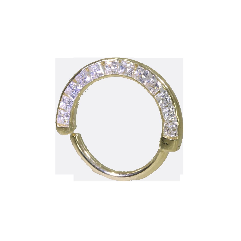 svg free library Daith Ring Swarovski Crystal Twister