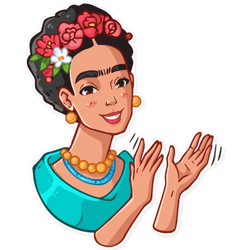 png library Frida Kahlo Sticker Telegram Clip art