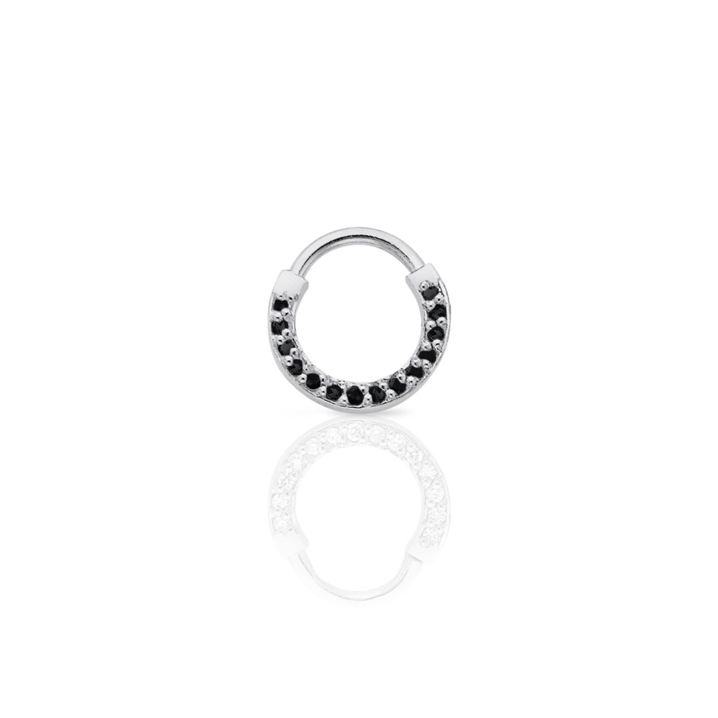 jpg transparent Diamond Septum Ring Pierced