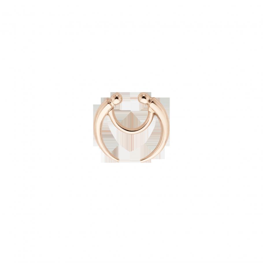 clip stock Crescent Septum Ring