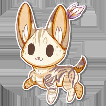 image royalty free  cute pinterest searching. Serval drawing chibi