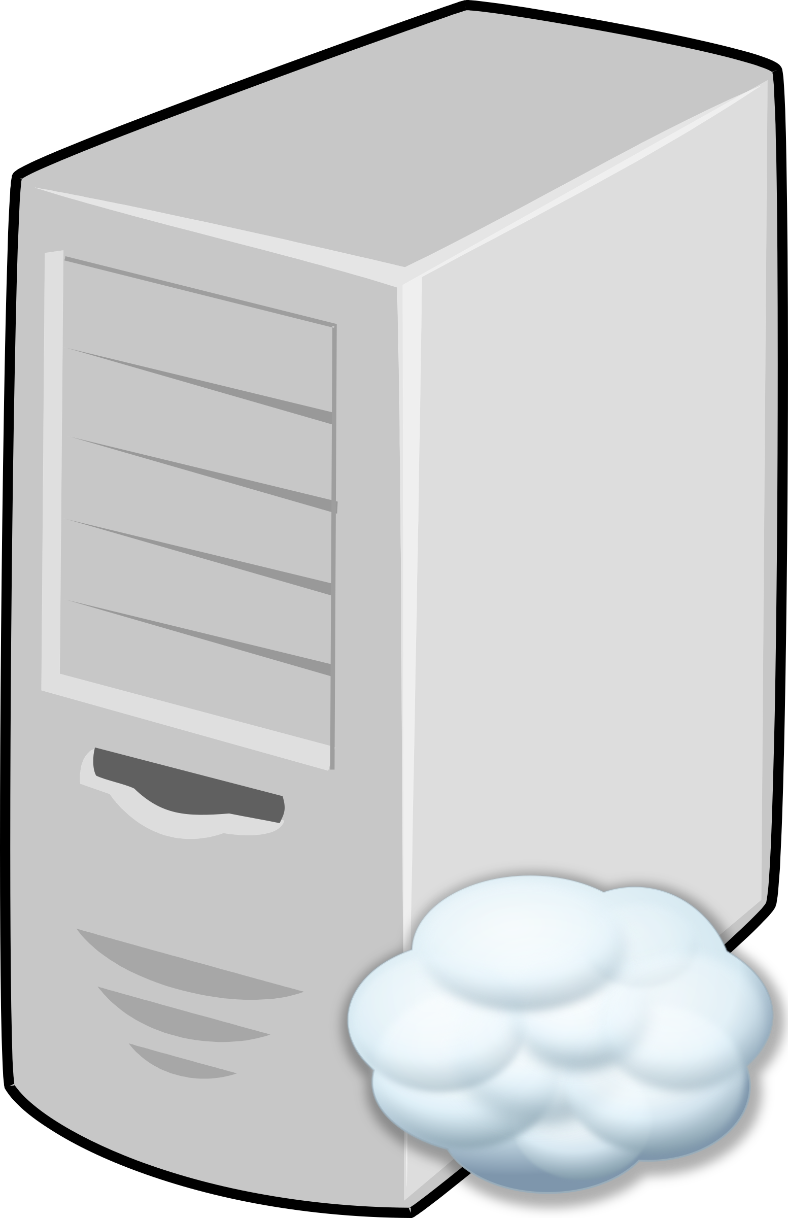 clip library download Server clipart. Cloud big image png