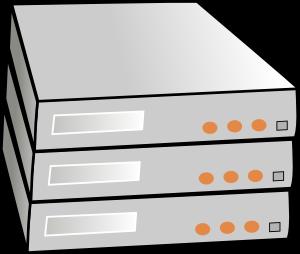 clip library stock Server clipart. X rack servers clip