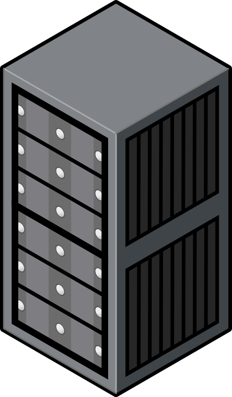clipart royalty free library Server Clipart cartoon