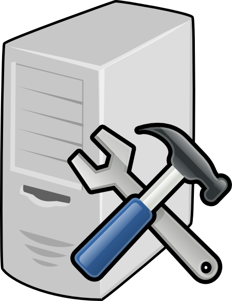 svg royalty free library Server Icon Clip Art at Clker