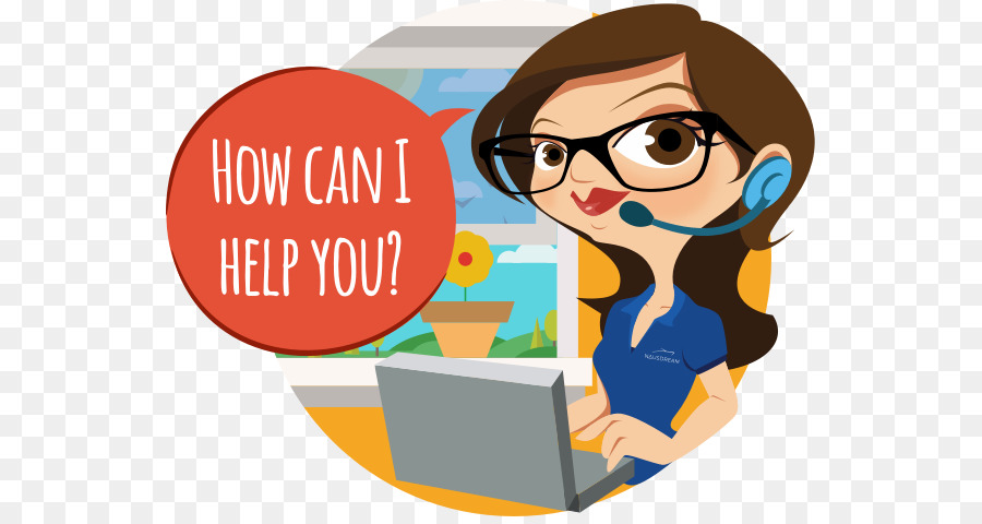 picture transparent library Service clipart. Reading cartoon customer communication