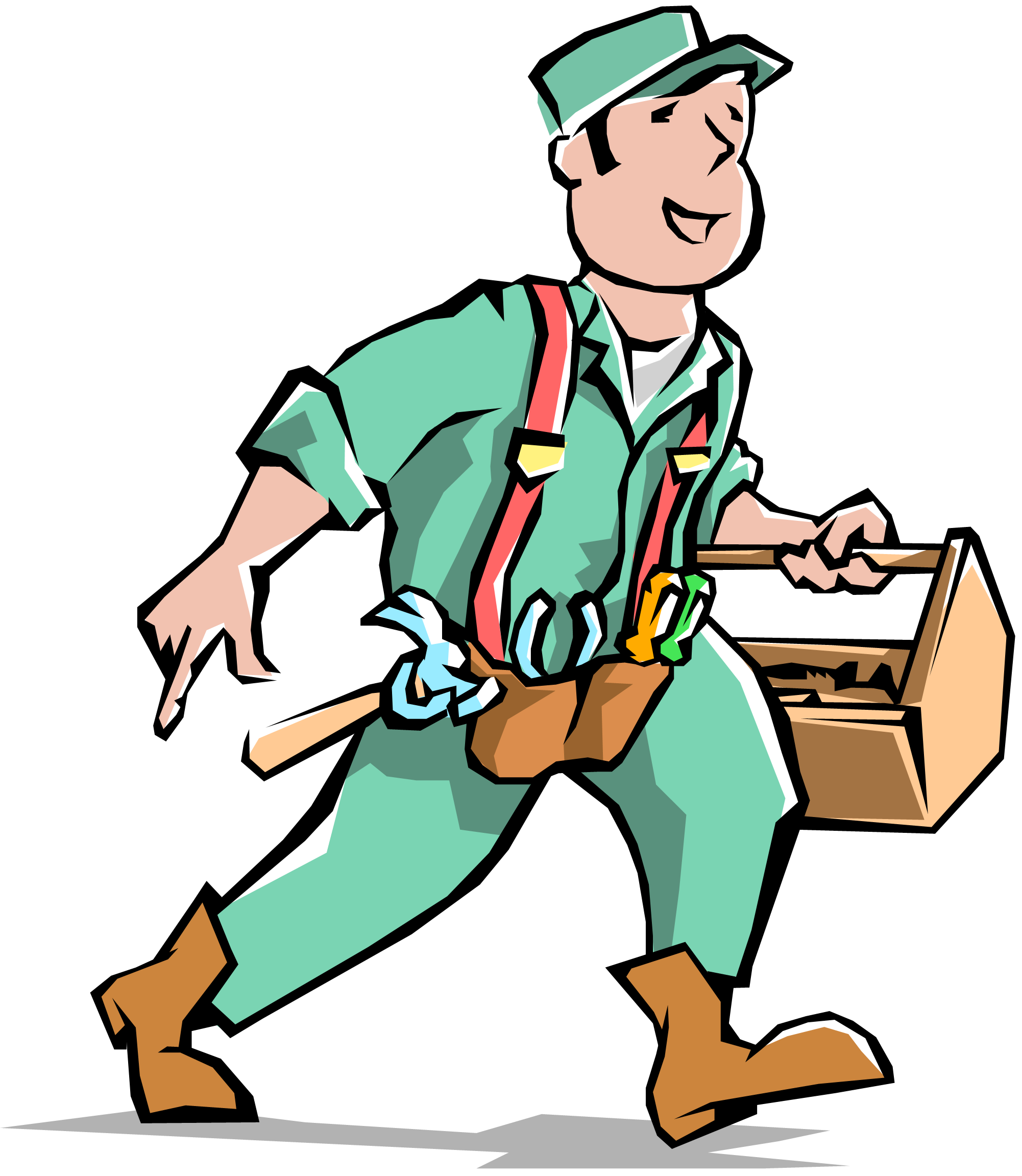 vector free download Services . Handyman clipart