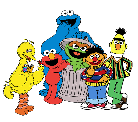 clipart free stock Sesame Street Clipart at GetDrawings