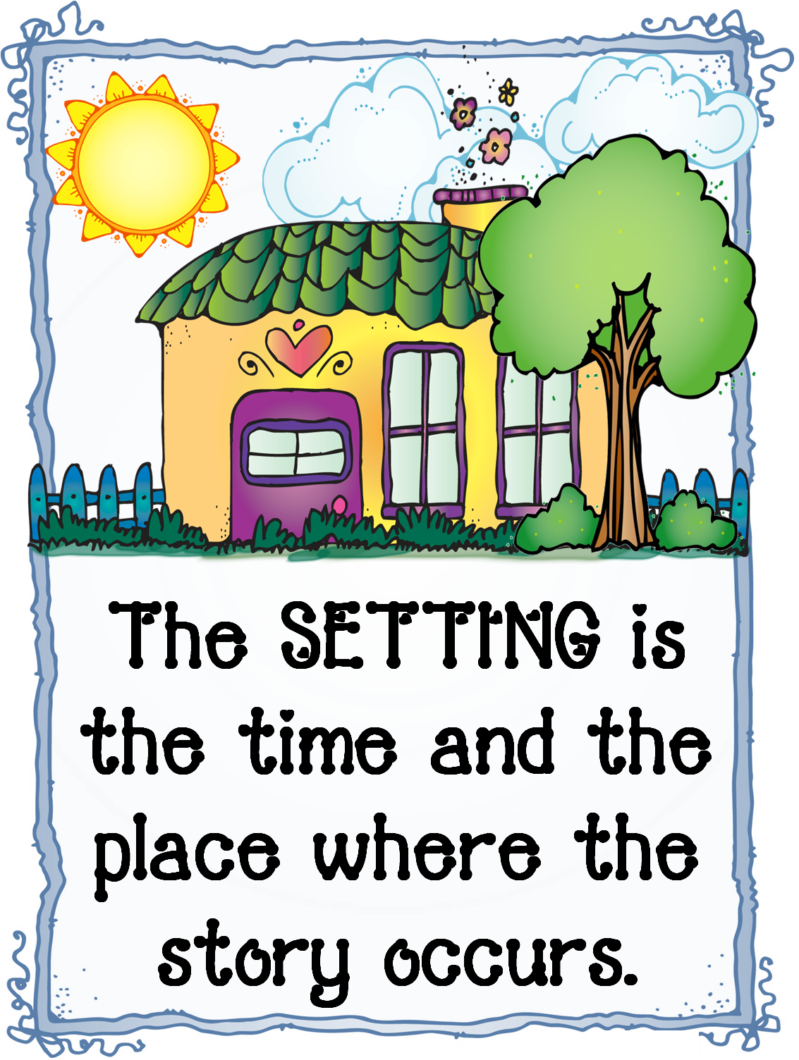 picture Setting clipart. Free story cliparts download