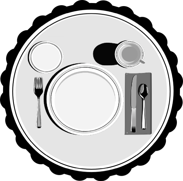 png black and white download Place clip art at. Setting clipart