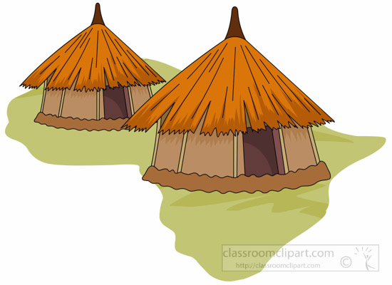 svg transparent library Setting clipart village. African transparent free