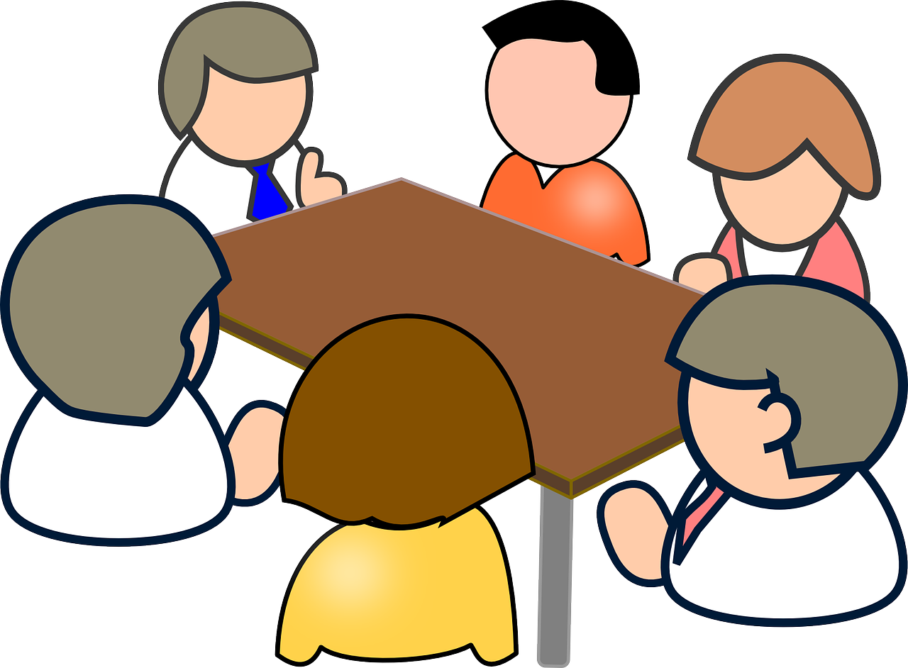 picture black and white library Collection of free Forums clipart executive meeting