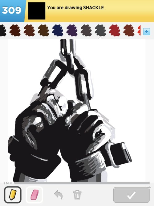 clip free stock Shackles drawing. Shackle drawings how to