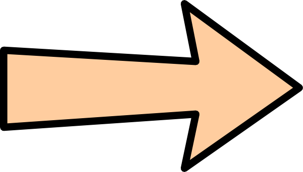 image transparent stock Orange Arrow Without Shadow Clip Art at Clker