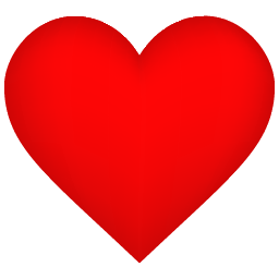 banner free Heart Shadow Icon