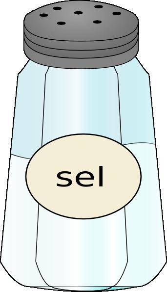 image stock Sel salt clip art. Shaker clipart.