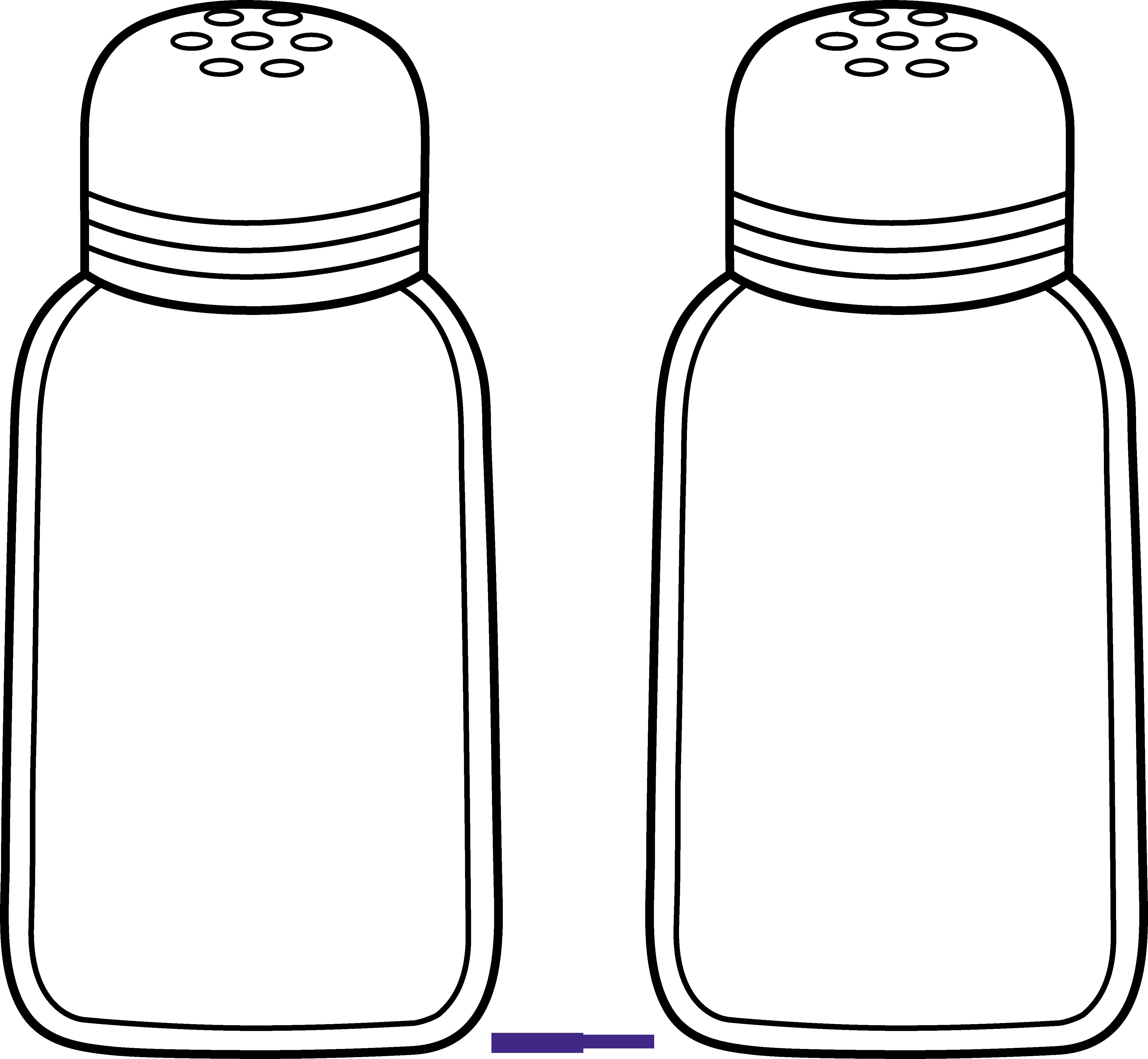 transparent stock Pepper Clipart salt and pepper