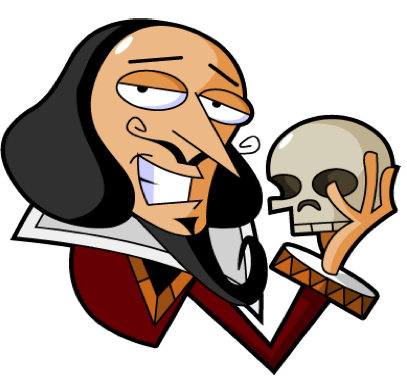 clip art transparent download Shakespeare clipart. Hamlet william free on.