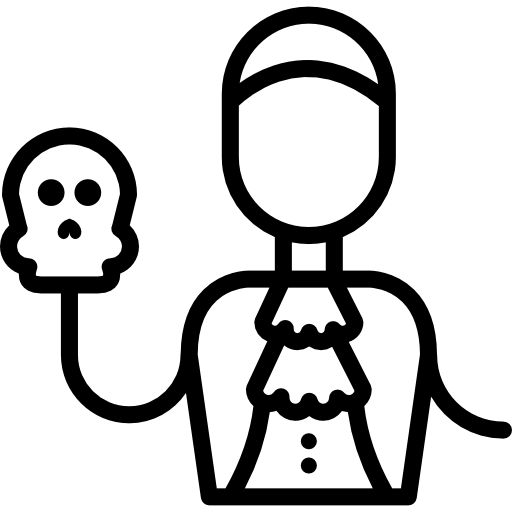 clip art freeuse library Hamlet Skull Drawing at GetDrawings