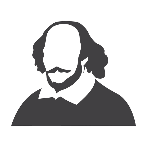 clip transparent library Shakespeare Clipart Shakespeare Black And White Free collection