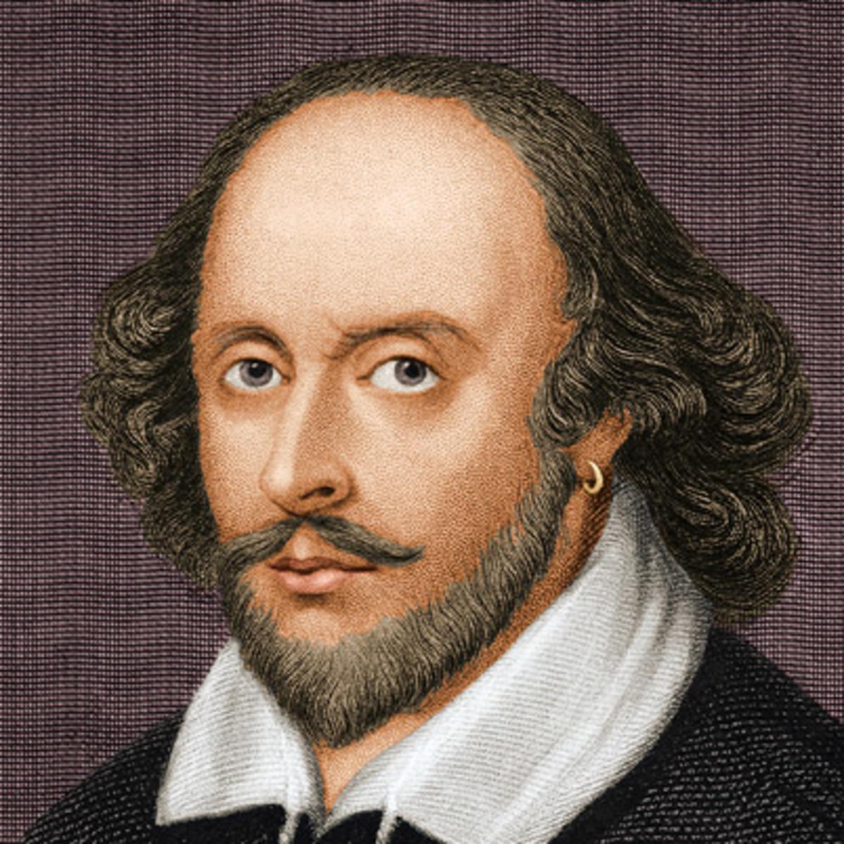 image library stock William Shakespeare