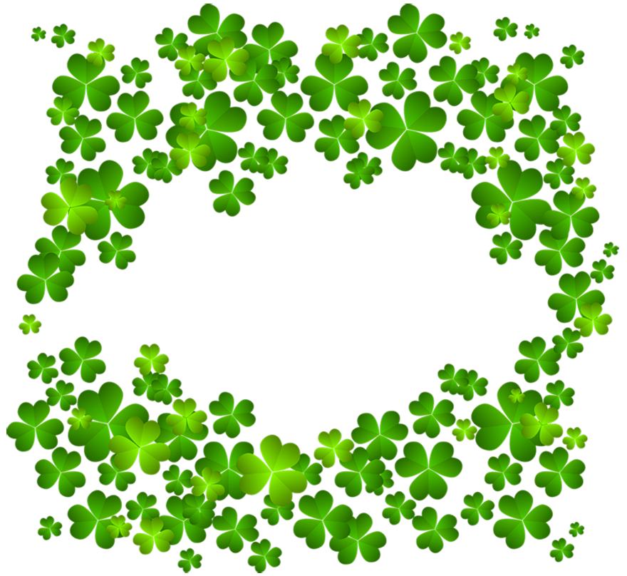 clipart free download Irish Shamrock Decor PNG Clipart