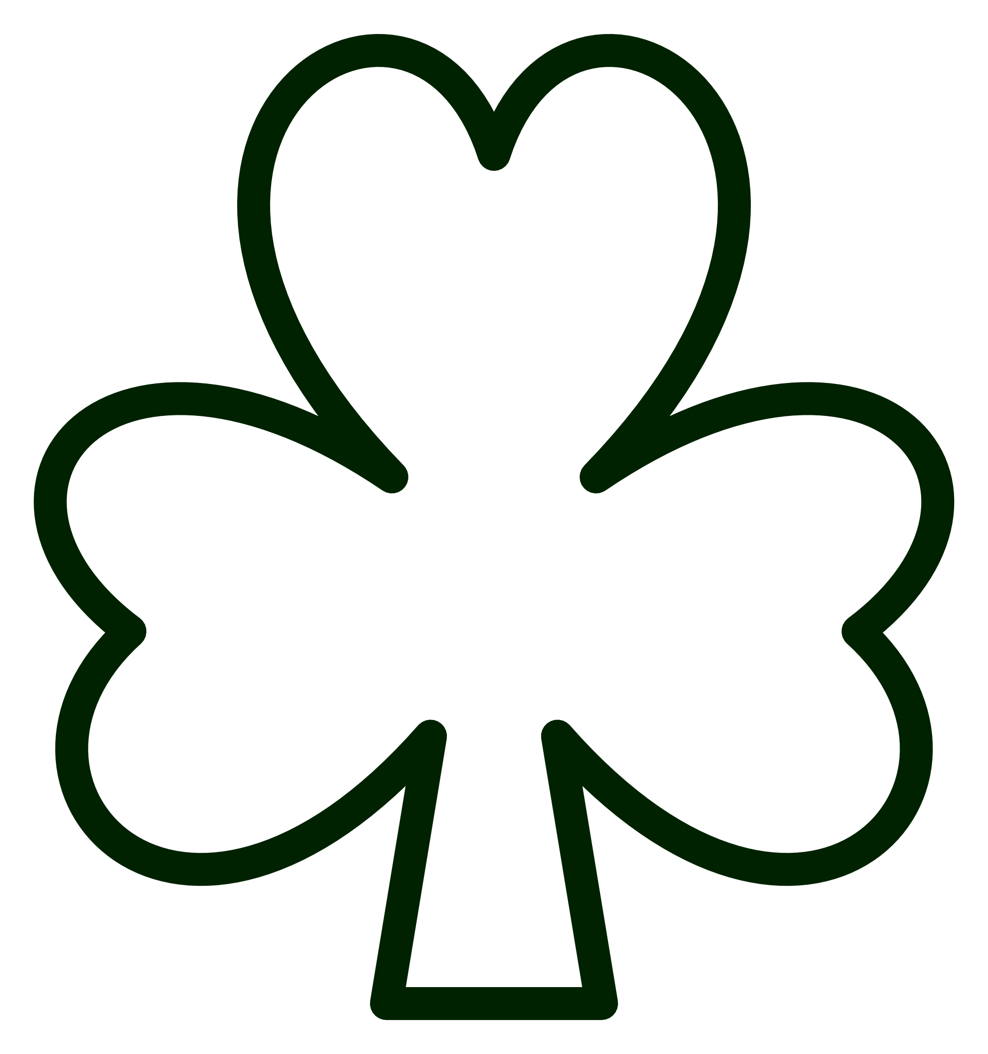 graphic royalty free stock St Patrick S Day Shamrock Clip Art