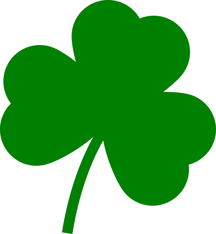 image free Green shape free on. Shamrock clipart
