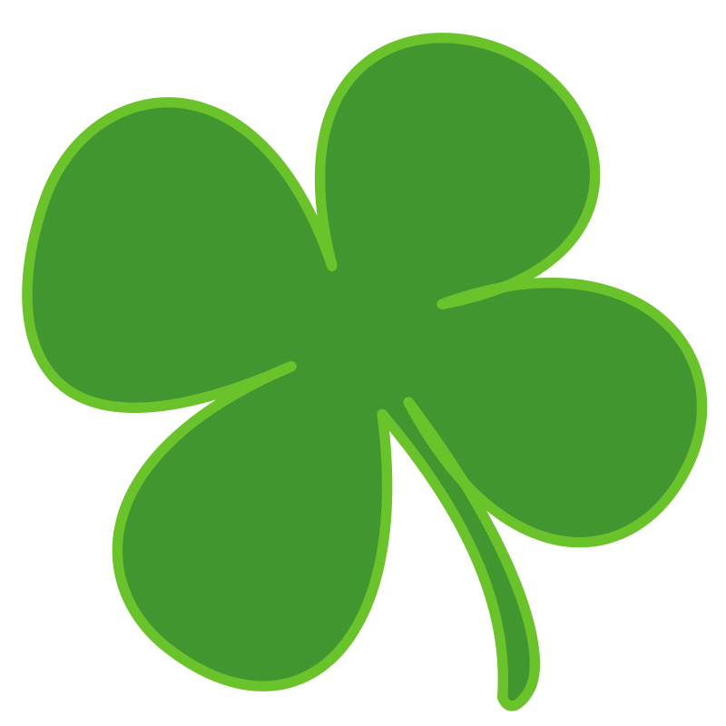 clipart free shamrock irish st