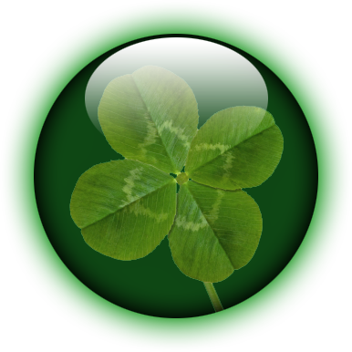 picture transparent Realistic Shamrock Orb by climber