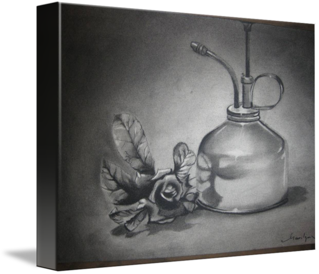svg freeuse stock drawing charcoal still life #111632791
