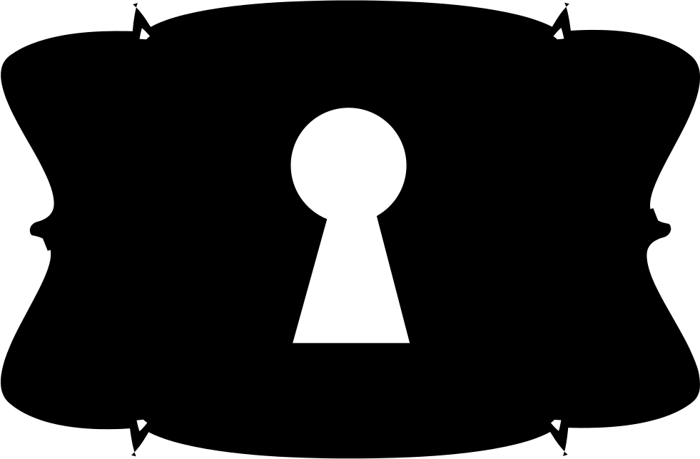 clip art download Keyhole In Antique Shape Silhouette Svg Png Icon Free Download