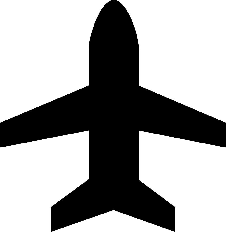 png stock Vertical Airplane Shape Symbol Svg Png Icon Free Download