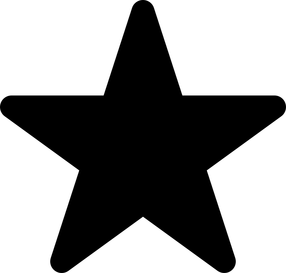 clip royalty free library Star Shape Rounded Svg Png Icon Free Download