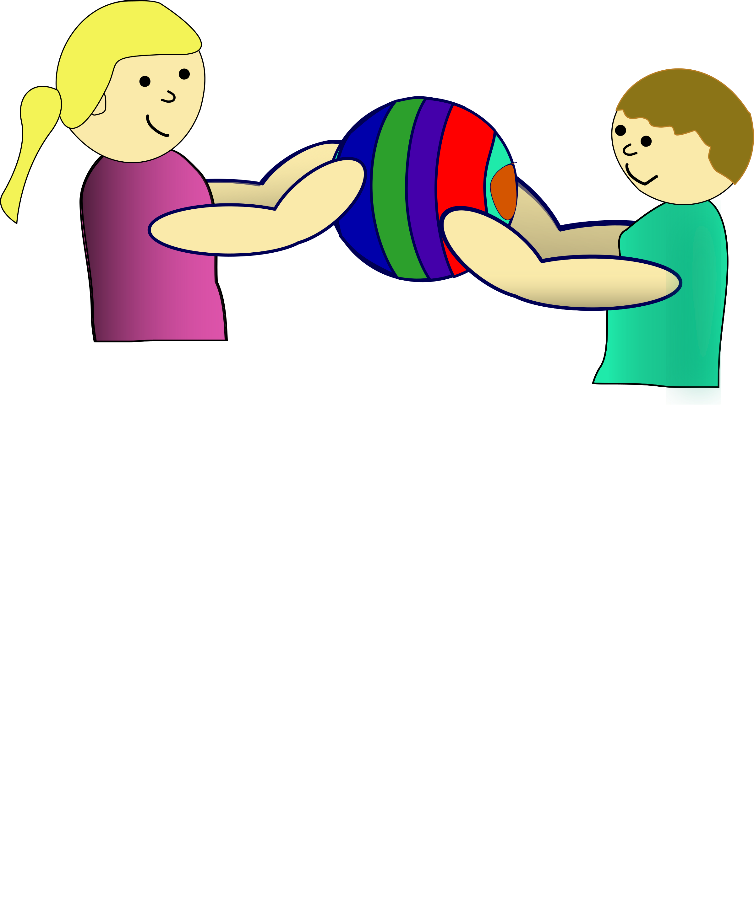png library download Sharing clipart. Children a ball big.