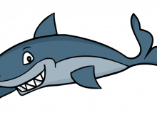 png black and white download Cute Shark Clipart at GetDrawings