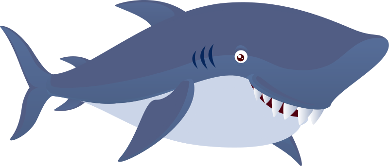 clip art transparent library Shark clipart. Free .