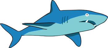 graphic library library Free . Shark clipart.